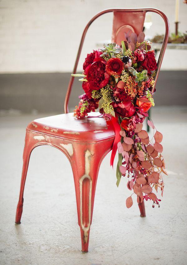 Boda - Inspiration rojo de la boda.
