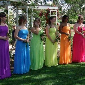 269ec103fd6 Rainbow Wedding - Rainbow Themed Wedding Inspiration  2079799 - Weddbook