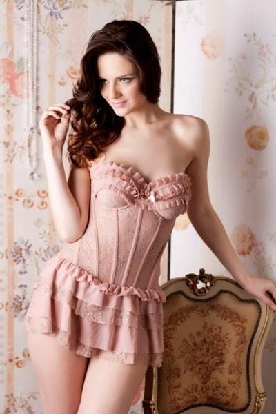زفاف - الباريسية الملابس الداخلية دش