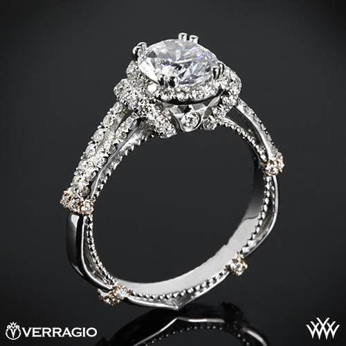 Mariage - Verragio Bagues de fiançailles De Whiteflash