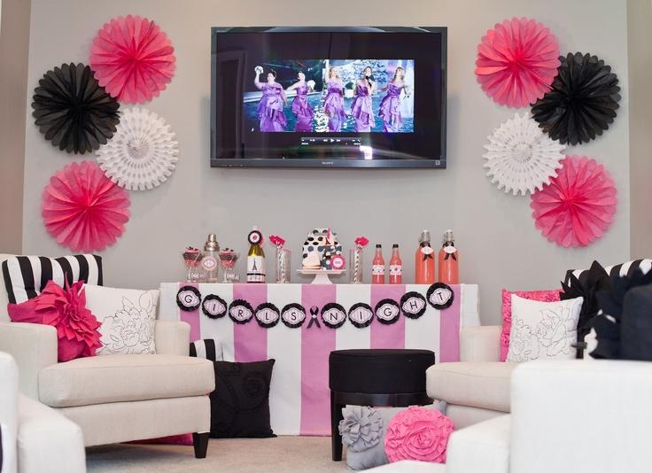 Bachelorette party ideas bridal shower 2080298 weddbook for Bachelorette party decoration ideas