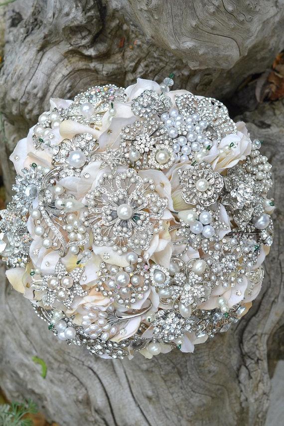 Hochzeit - Hochzeiten - Vintage-Blumensträuße