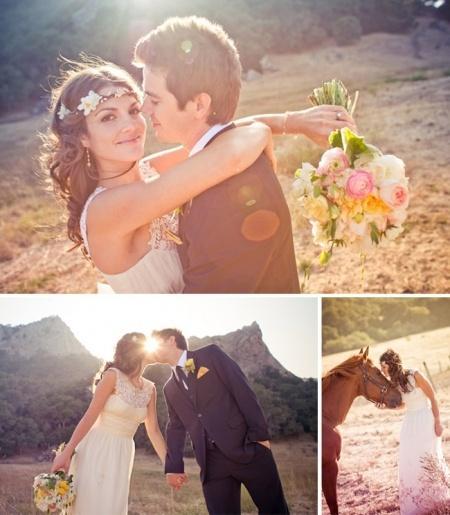 Matrimonio Tema Hippie : Matrimonio a tema hippie chic weddings weddbook