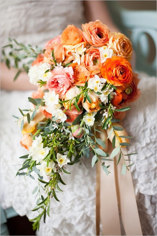 Wedding - Cascading Bouquets