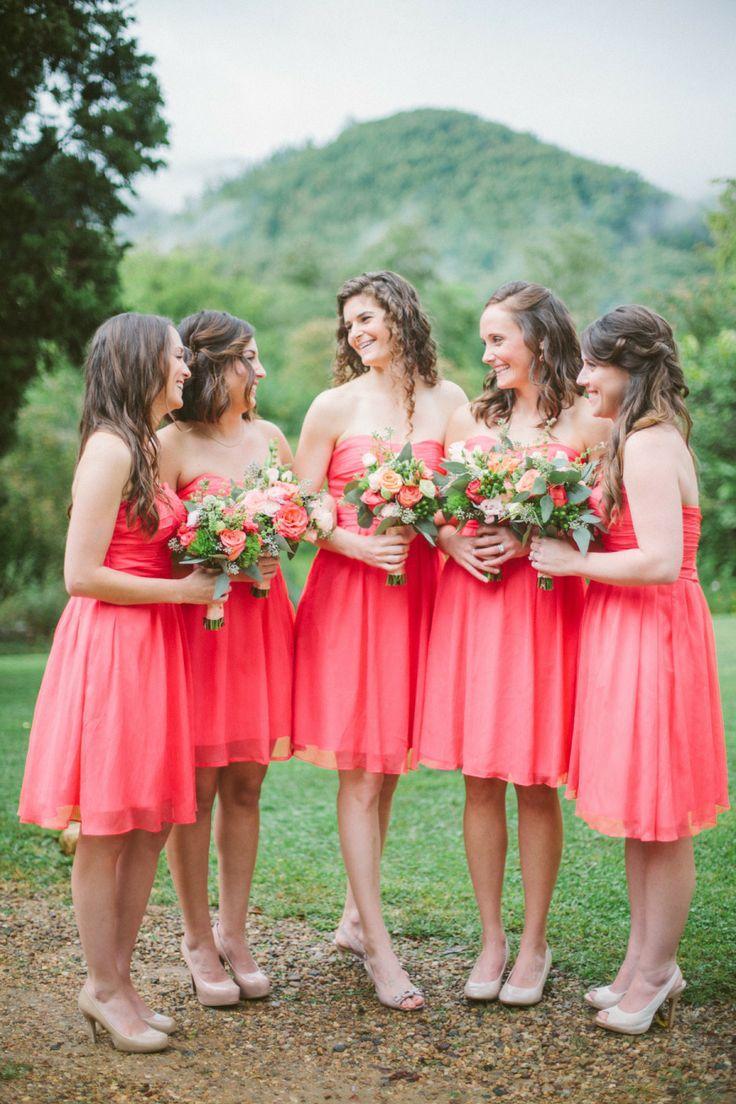 Coral Wedding - Peach Coral {Wedding} #2081099 - Weddbook