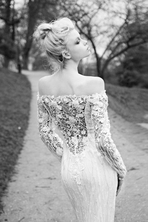 Wedding - Long Sleeved & 3/4 Length Sleeve Wedding Gown Inspiration