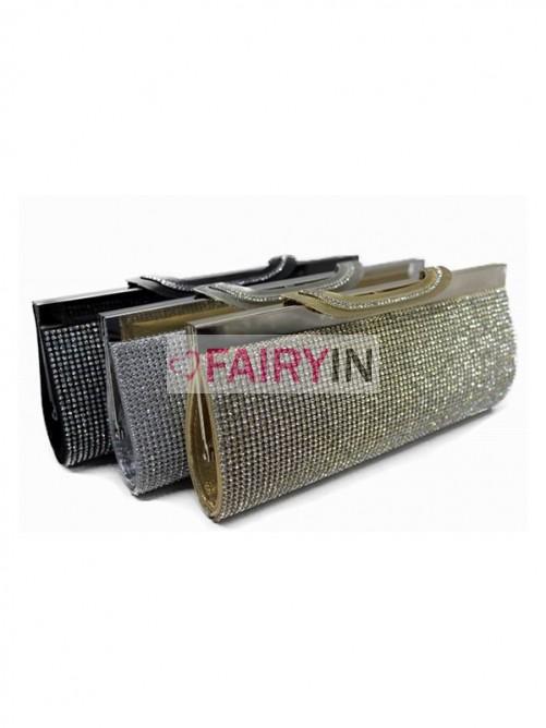 Wedding - Fairyin Rhinestones Evening Handbags (BB000A197A7)