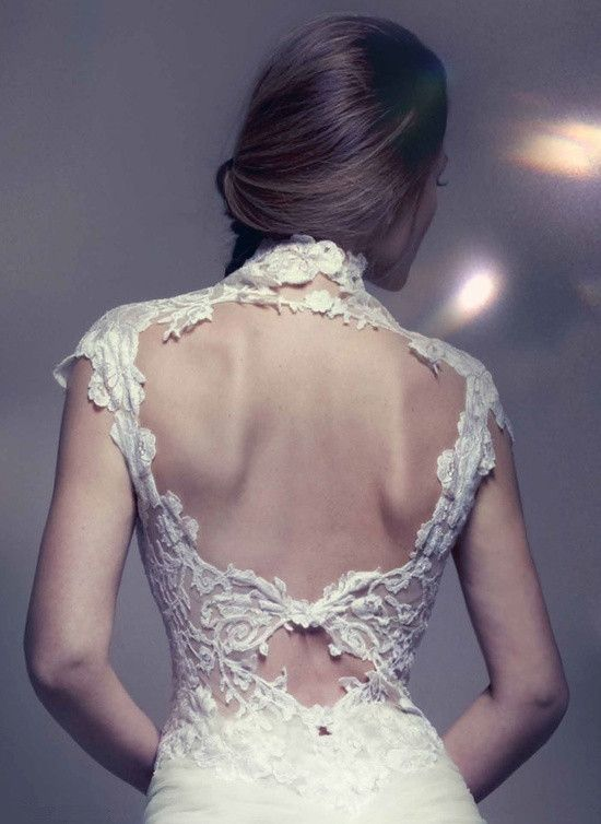 Wedding - Backless Wedding Gowns