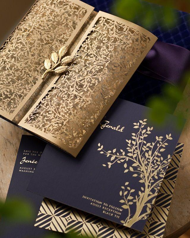 Gold wedding invitation paper gold 2081714 weddbook invitation paper gold stopboris