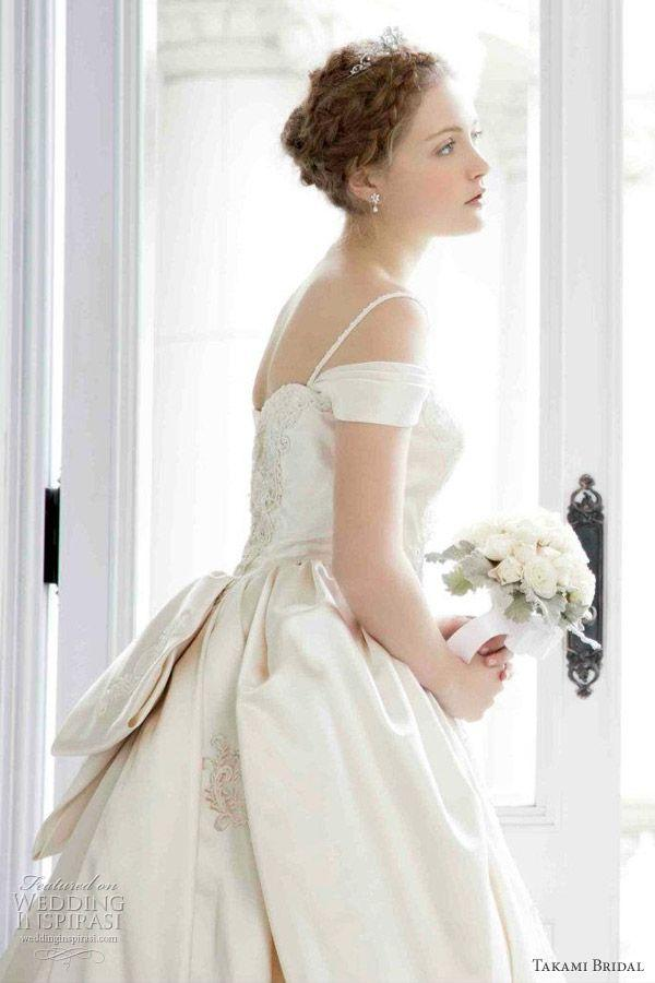 Short Sleeved Cap Off The Shoulder Sleeves Wedding Gown Inspiration