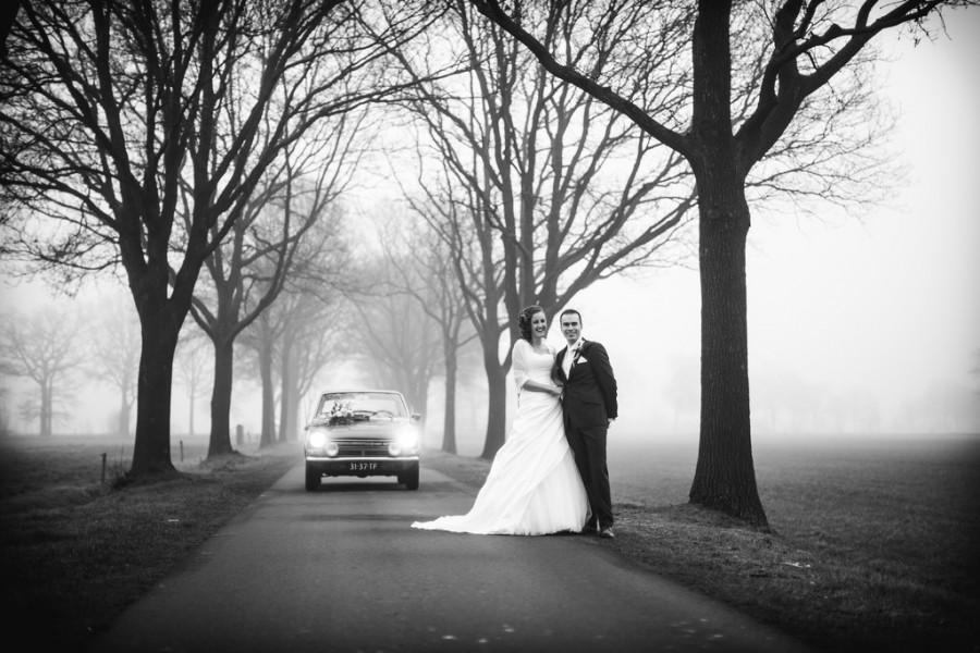 Свадьба - Свадебная Фотография На Туманный День