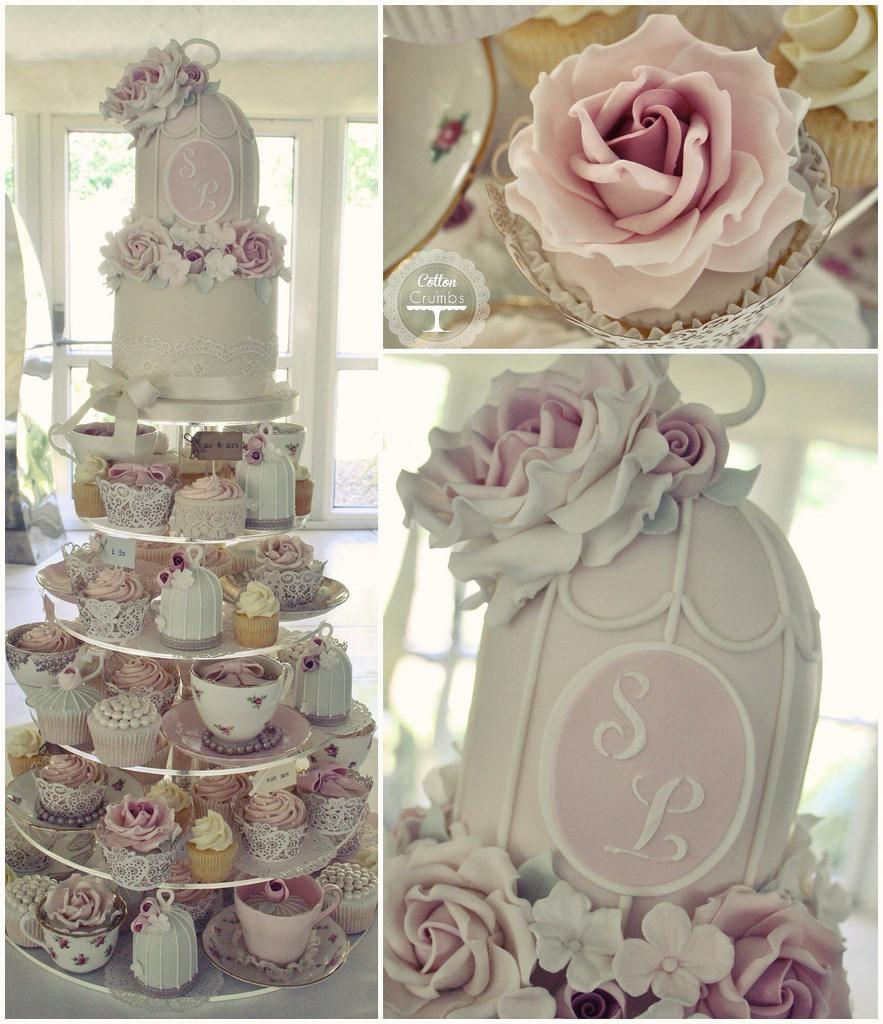 Afternoon Tea Wedding Cake