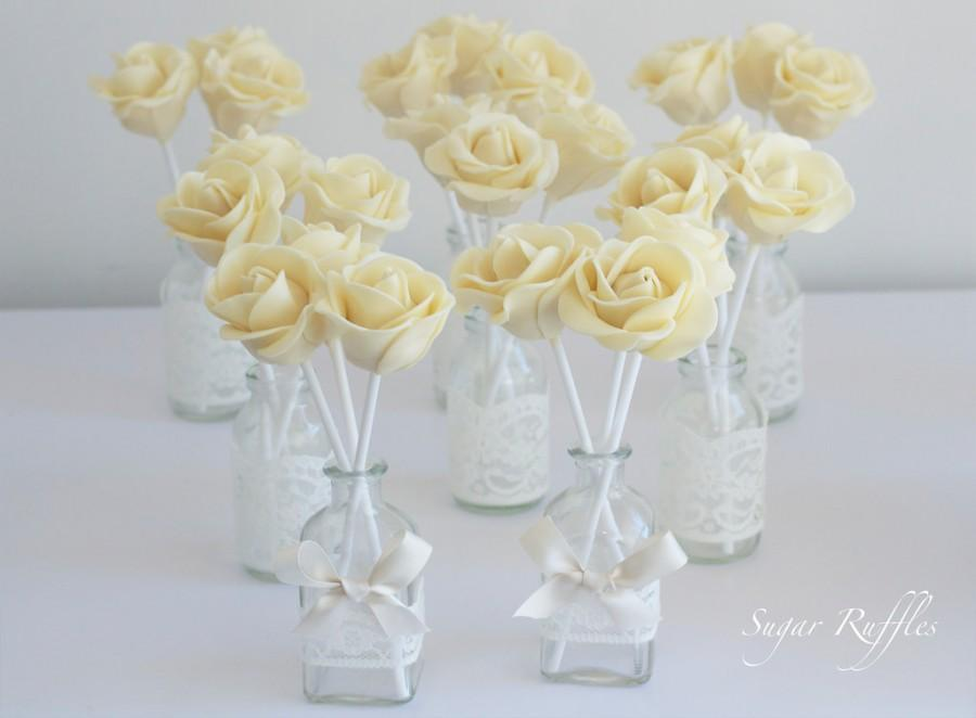 Cake Pop Flower Bouquets