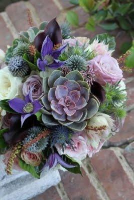 Hochzeit - Bridal Bouqet Lila