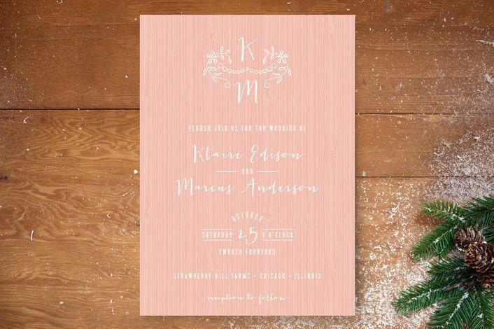 Mariage - Invitation de mariage Inspiration