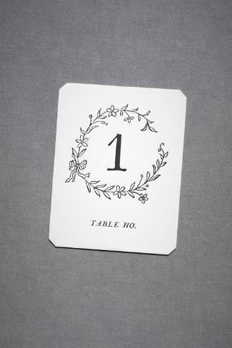 Wedding - Tables №