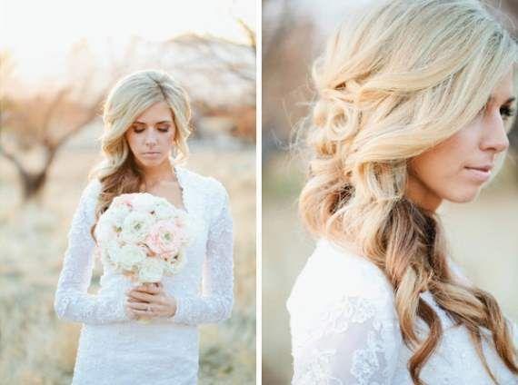 Свадьба - Свадебная прическа