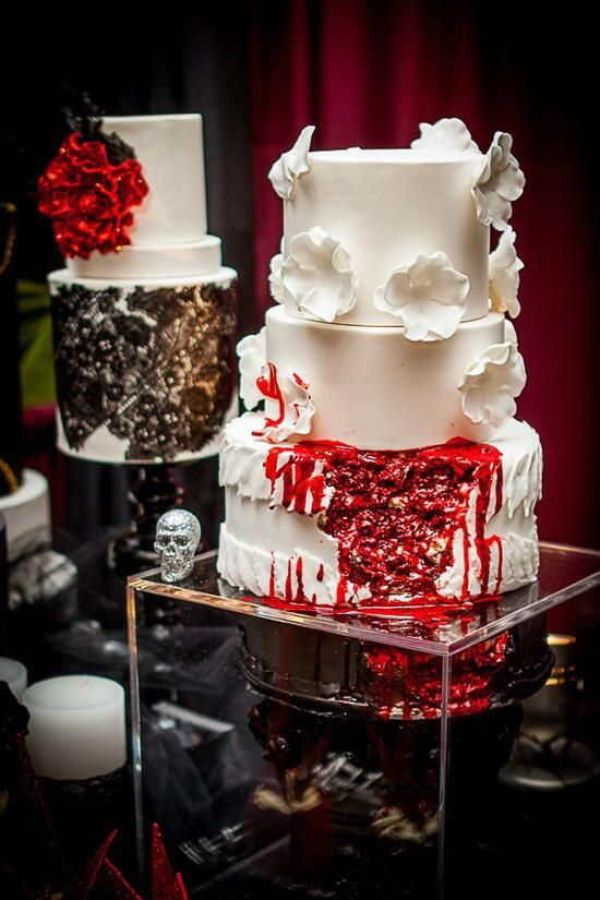 Zombies/Corpse Bride Wedding Theme Inspiration #2082963 - Weddbook