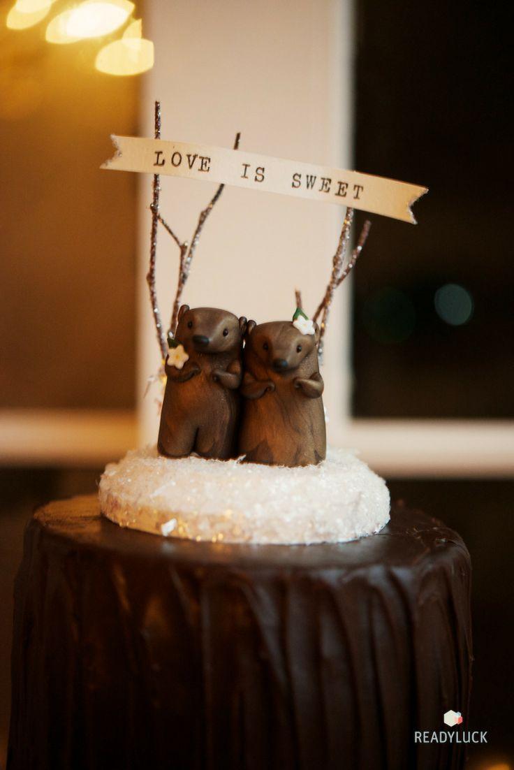 Свадьба - Торт Топперы