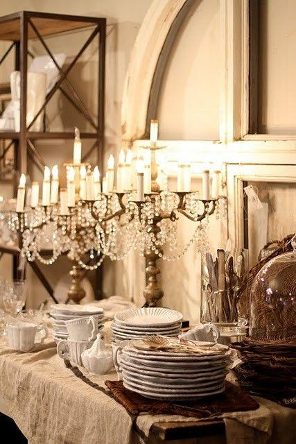 Romantic Vintage Table Settings. & Romantic Wedding - Romantic Vintage Table Settings.. #2083797 - Weddbook