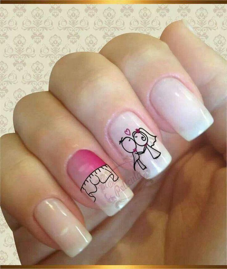 Nail Designs For Wedding Party: Wedding Nails Design #2083843