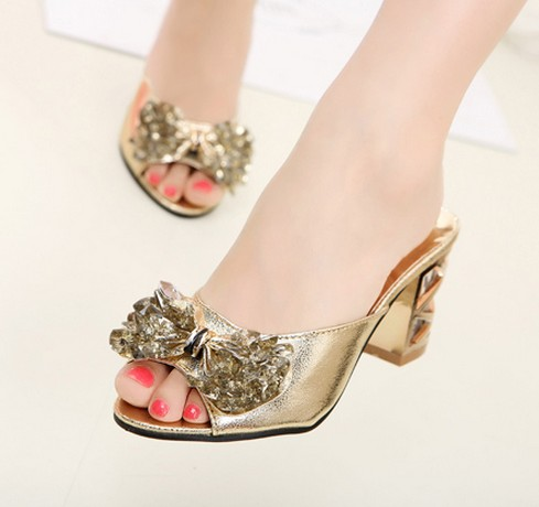 Wedding - Fashion Style 2013 Summer Arrivals Flat Sandals Shoes White White SP0094