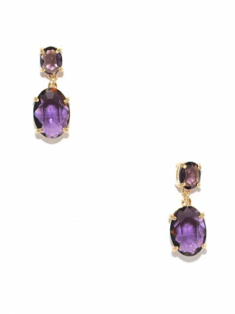 Wedding - Radiant Orchid Drop Earring