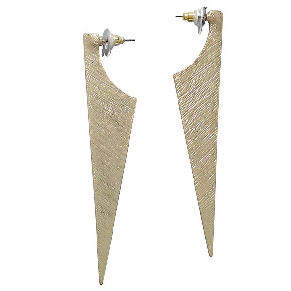Mariage - gold dagger earrings