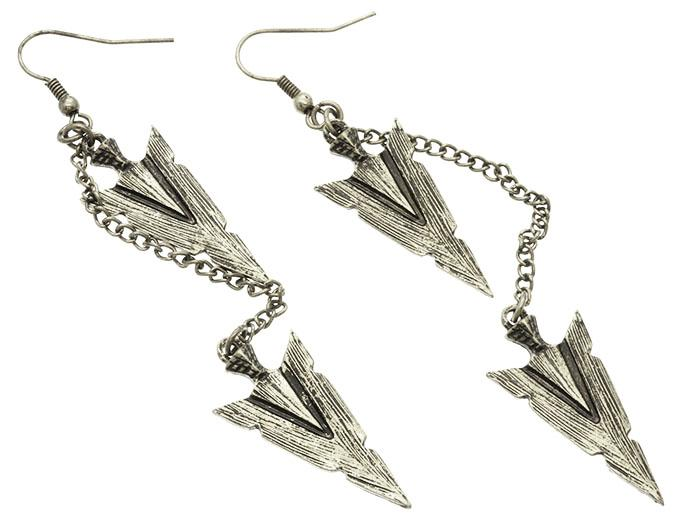 Mariage - antique arrowhead earrings