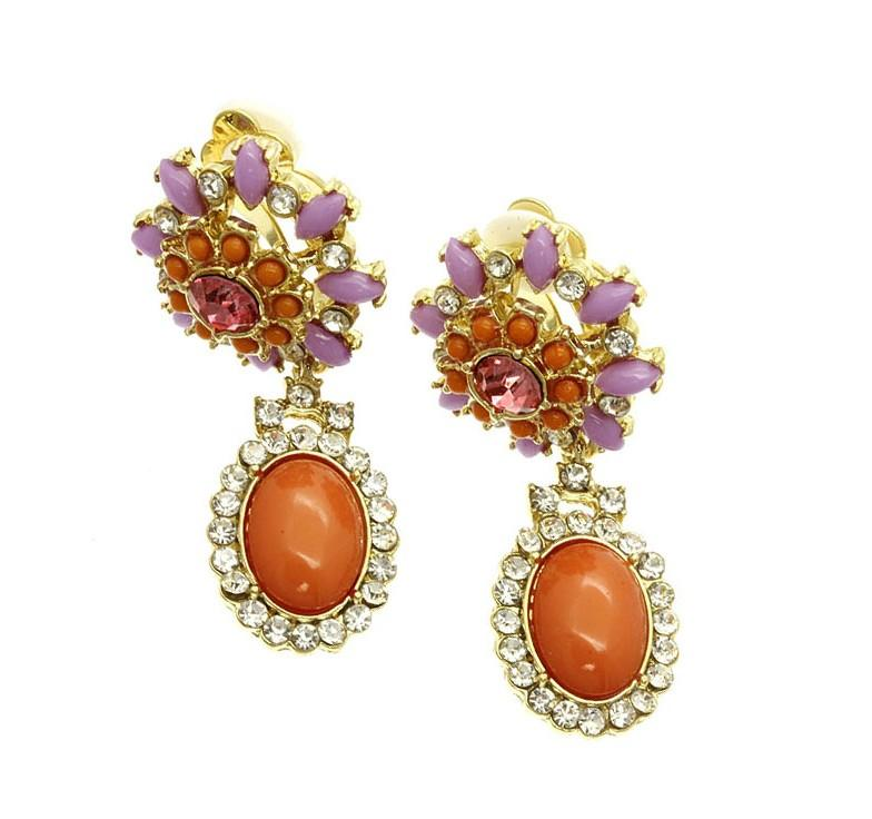 زفاف - lola earrings
