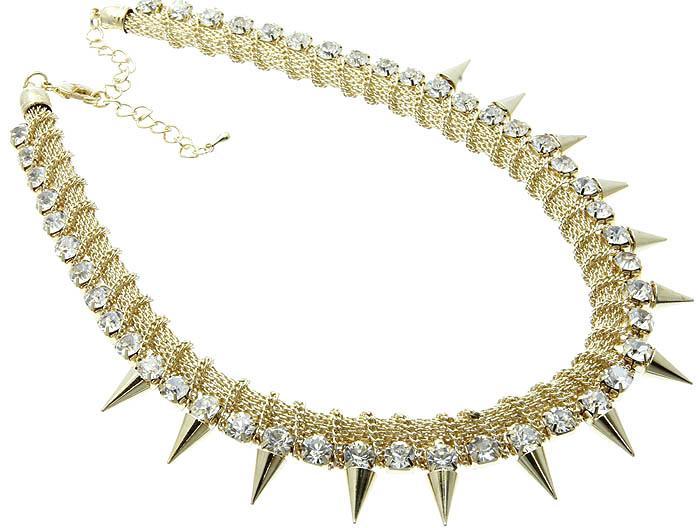 Mariage - paris spike necklace