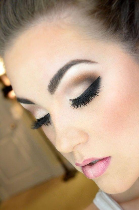 Outdoor Wedding Makeup Tutorial : Makeup - Stunning Make Up #2084594 - Weddbook