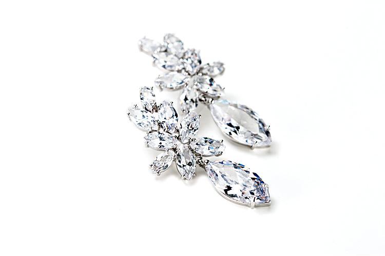 Wedding - Marquis drop earring