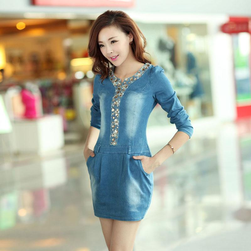 Brilliant  Denim Dress For Women  Women39s BlueMultiGreen Denim Dresses Online