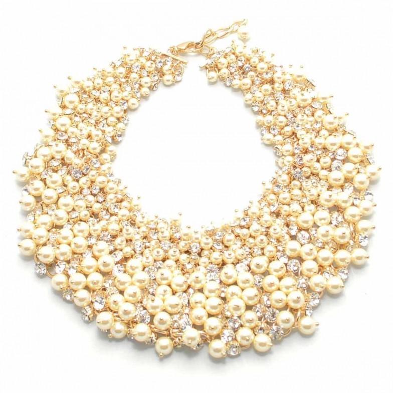 Mariage - Perles & Cristaux Necklace