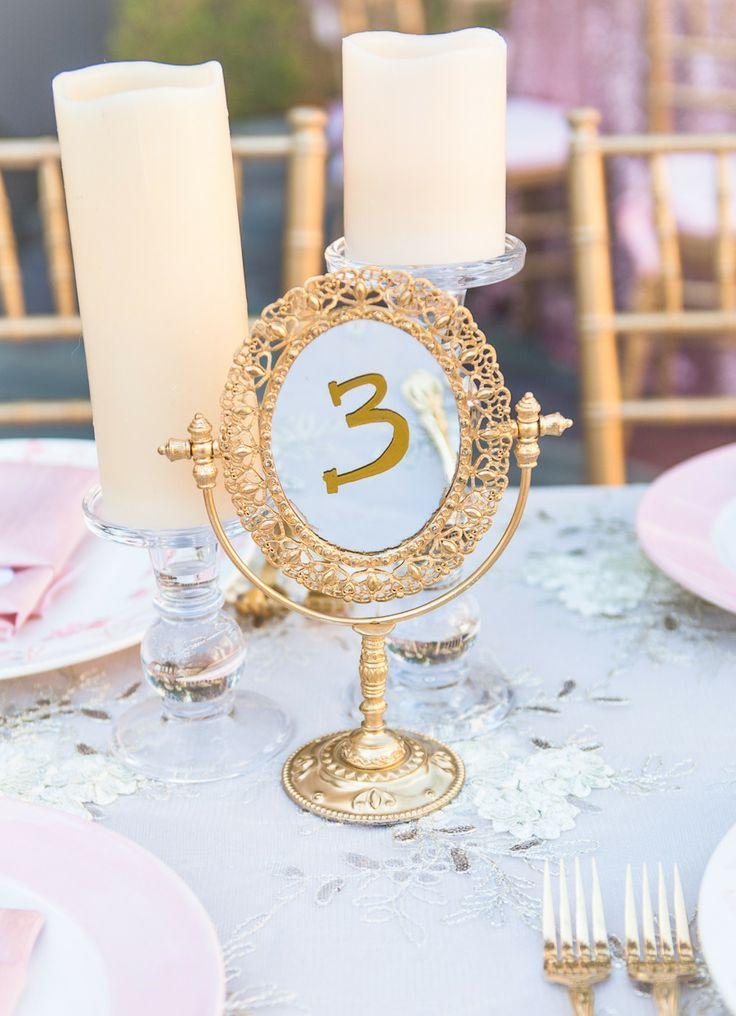 Wedding - Table Number Ideas