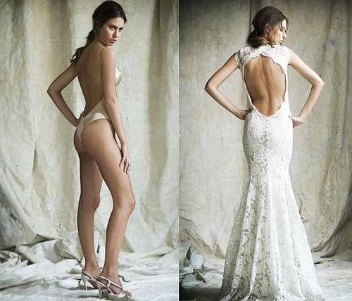 Mariage - Mariages - lingerie de mariée