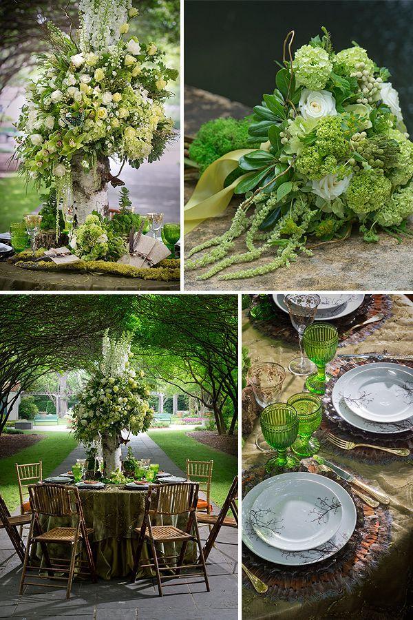 Wedding - Bridal Bouquet Green