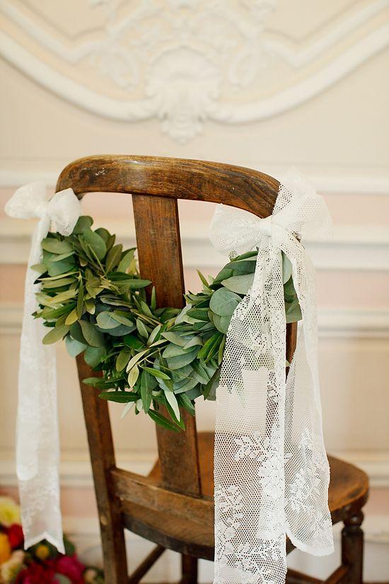 Mariage - Bride & Groom Chaises / / Sillas Novios