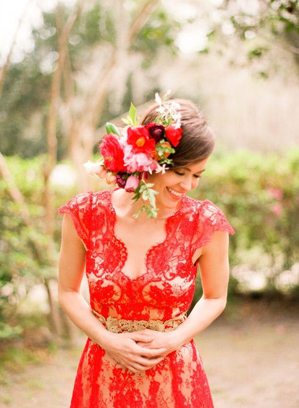 Wedding - Red Wedding Inspiration