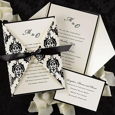 Mariage - Invitations de mariage avec FLARE!