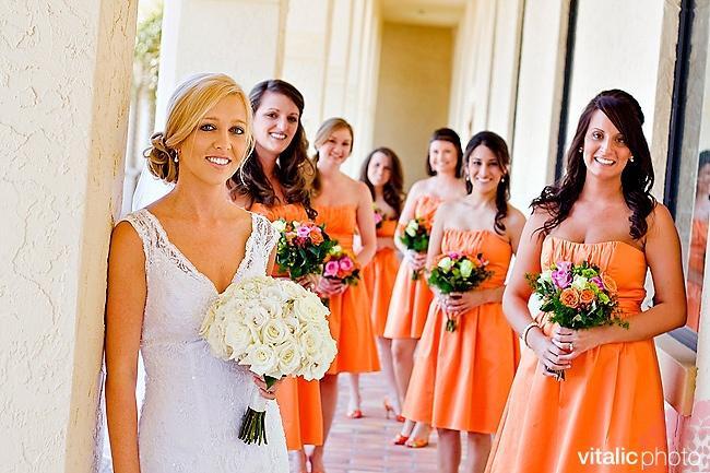 Mariage - Orange thème de mariage