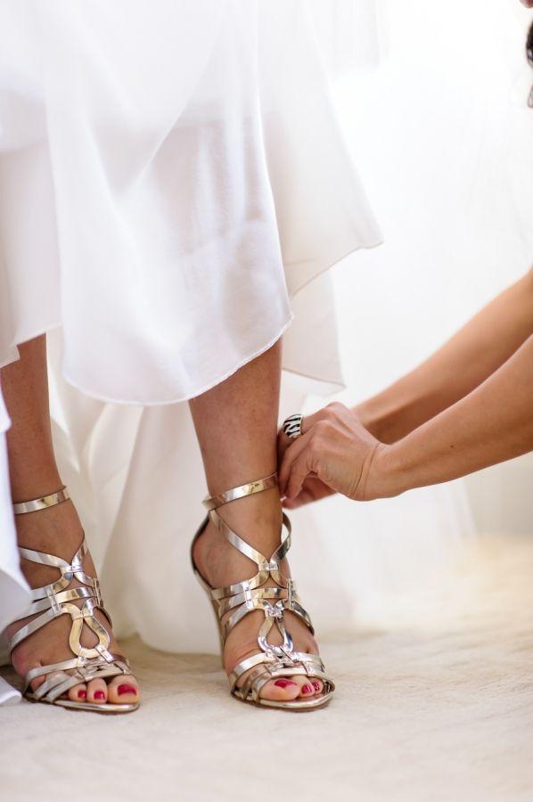 Hochzeit - Brautschuhe / Scarpe Sposa