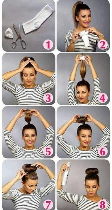 Как сделать волосы к верху