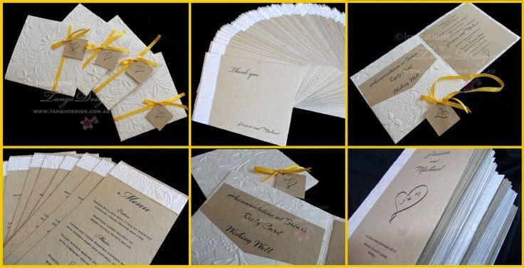 Favoloso Matrimoni-inviti-Menu-Save The Date .. #2086986 - Weddbook JE89