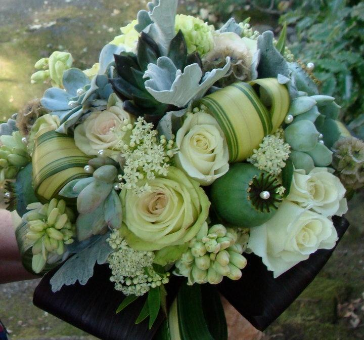 Wedding - Bridal Bouquet Green