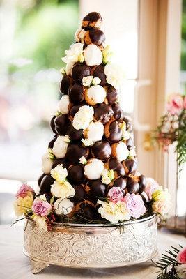 Wedding - Croquembouches:French Wedding Cake