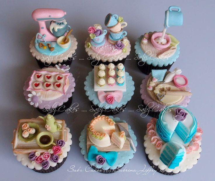 Image Ongles Cup Cakes