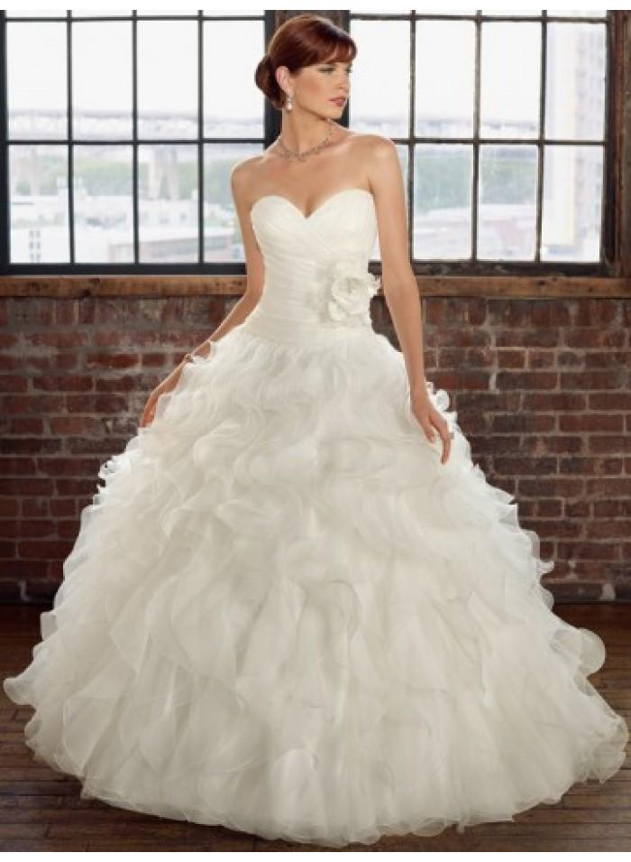 Organza Wedding Ball Gowns