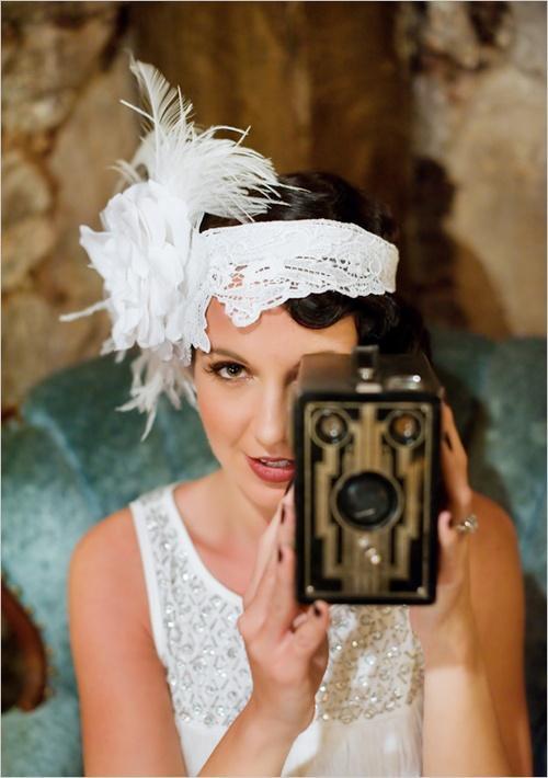 زفاف - الفن ديكو / غاتسبي الإلهام 1920s الزفاف